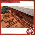 廠家直銷堅固耐用古式仿木紋鋁合金鋁制葡萄架遮陽架 4