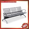 Public Airport Hospital Waiting Room stainless steel metal Waiting Chair bench
