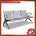 Airport Hospital Metal Waiting Room Public Waiting Three Seats armchair Chair