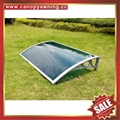 polycarbonate diy canopy awning with cast aluminum arm support for door window