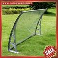 铝合金铝制遮阳门窗PC雨篷棚支