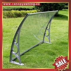 铝合金铝制遮阳门窗PC雨篷棚支架厂家