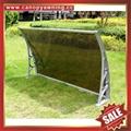 鋁合金鋁制遮陽門窗PC雨篷棚支架廠家 2