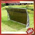 铝合金铝制遮阳门窗PC雨篷棚支架厂家 2