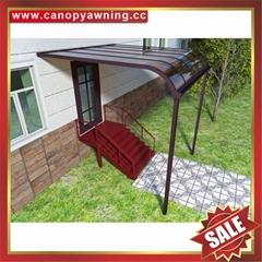 別墅樓房公寓小區門窗露台陽台天臺鋁合金鋁制卡布隆板雨陽棚蓬篷