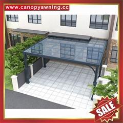 别墅花园园林人行道过道走廊铝合金铝制挡雨防晒雨棚雨阳篷遮阳蓬