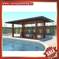 outdoor garden sun rain alu aluminum gazebo pavilion shed shelter canopy cover