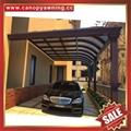 中式别墅门廊露台铝合金铝制钢化玻璃遮阳雨篷蓬棚 4