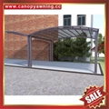 balcony gazebo patio sunshade alu aluminum pc canopy awning rain shelter shield