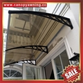 window door diy pc canopy awning shelter cover with alu aluminum brackets
