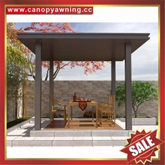 prefab outdoor aluminium gazebo shed pavilion pagoda gloriette kiosk for garden