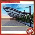outdoor villa hotel polycarbonate alu aluminum park car shelter carport canopy