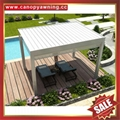 outdoor Aluminum alu motorized Bioclimatic Louver system pergola gazebo pavilion