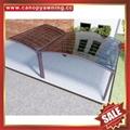 铝合金铝制PC耐力板防晒挡雨露台阳台雨棚雨阳篷遮阳蓬 5