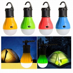 Factory Directly Outdoor ABS Portable LED Tent Hanging Light