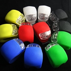 Promotional Factory Directly Wholesale Bike Accessories Silicone LED Bike Light