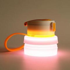 Wholesale Foldable Waterproof Silicone LED Bottle Light