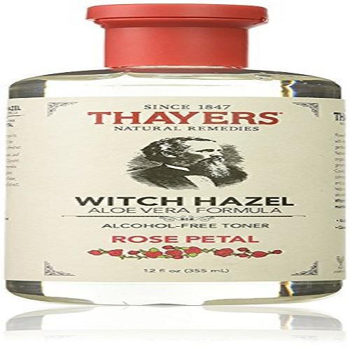 Original Thayers Alcohol free Rose Petal Witch Hazel with Aloe Vera 12 oz  1