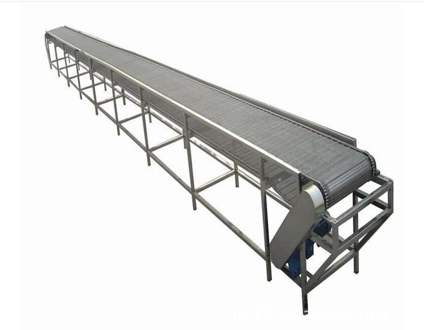 定製中小型耐高溫爬坡輸送機 1