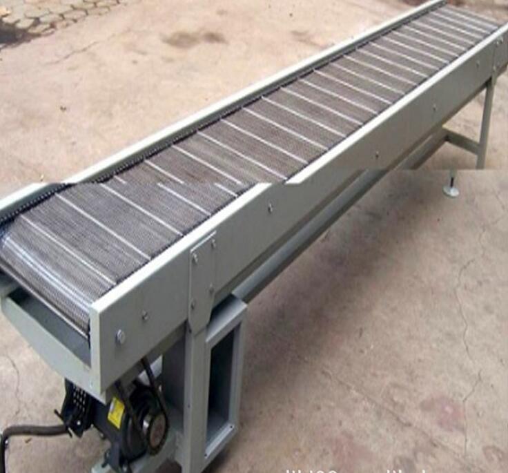 定制中小型耐高温爬坡输送机 2