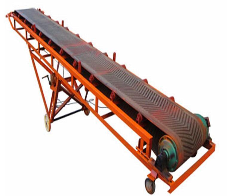 可移动角度可调节装卸皮带输送机 2
