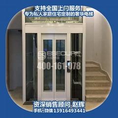 意墅中國別墅家用觀光電梯
