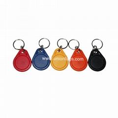13.56MHz MF1 S50 rfid key fob hotel key fob for access control