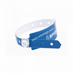 High Quality MF1 S50 Vinyl RFID Wristbands For Festival Events