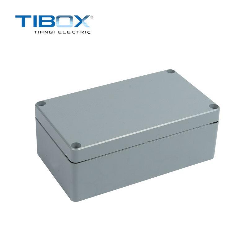 TIBOX 廠家新品戶外防水工業鑄鋁接線端子盒  1