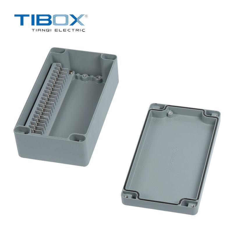 TIBOX 廠家新品戶外防水工業鑄鋁接線端子盒  2