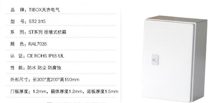TIBOX廠家直銷防水防塵防腐蝕挂牆式機箱 4