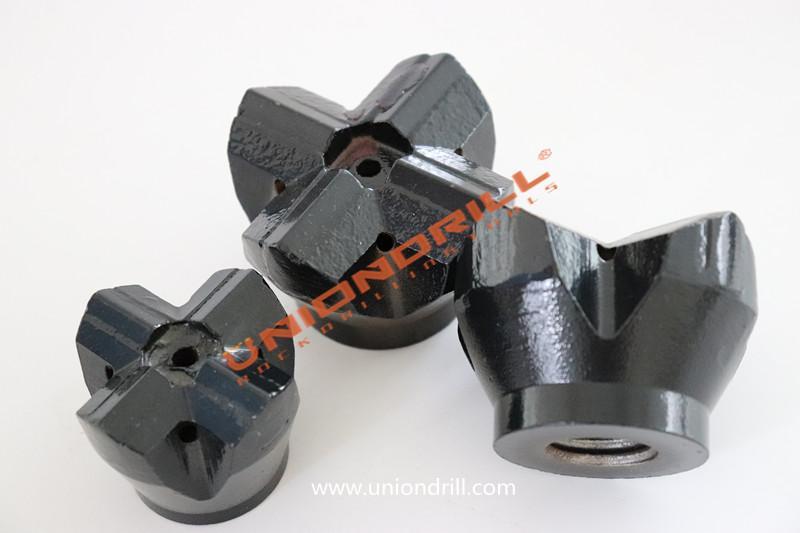 shoulder drive drilling H-thread cross bit