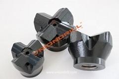 shoulder drive drilling H-thread cross bit (Hot Product - 1*)