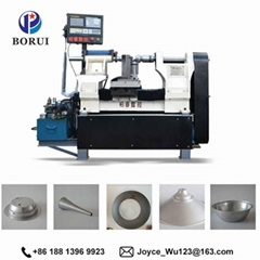 BORUI automatic cnc arts and craft metal aluminium spinning cnc machine
