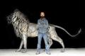 狮子仿真金属模型制作 3
