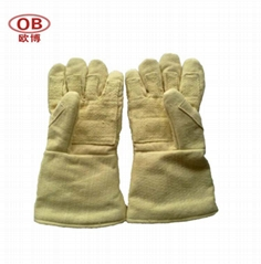 500 C pure aramid 5 fingers glove
