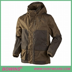 Mens Hunter Outdoor Hunting Highland Waterproof Shooting Jackets