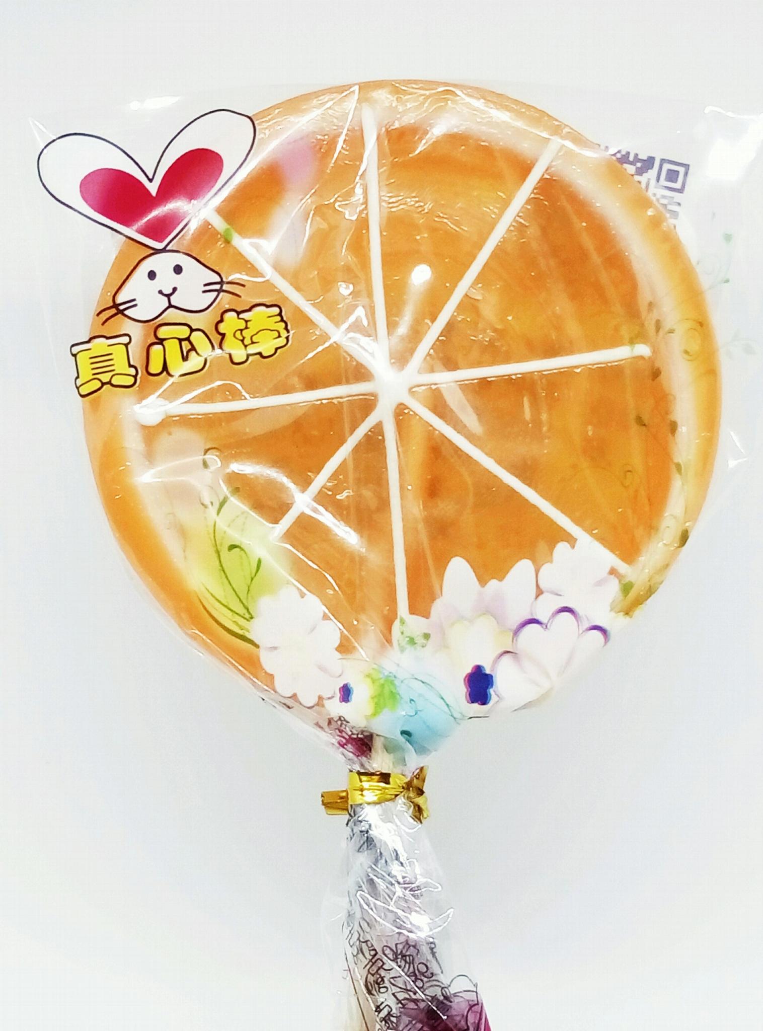 真心棒工艺水果造型棒棒糖 3