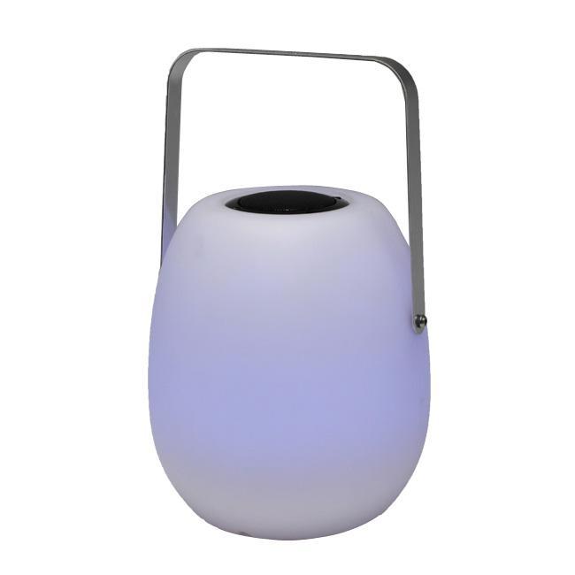 智能防水便携式无线蓝牙音箱,音乐LED夜灯 3