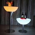 glowing illuminate night club bar stools