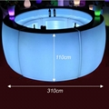 outdoor nightclub commercial portable modern LED bar counter 3