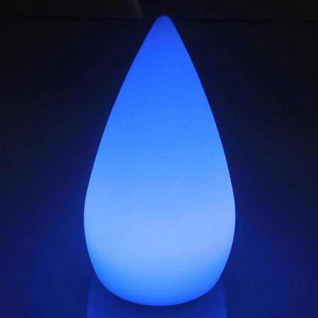 colorful decoration signal remote control LED waterfall light 1