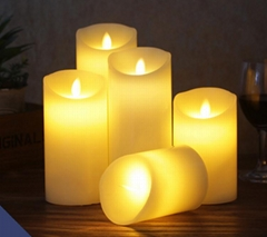 Remote Control USB Charge Rechargeable LED Candle
