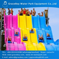 Flow Rider Wave Fiberglass Surfing Machine Amusement for Water Park
