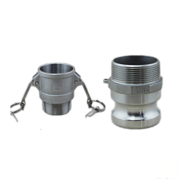 China Supplier SS quick coupling camlock coupling SS fire hose