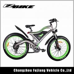 New design fat tire 26Inch 500W 48V electric bike