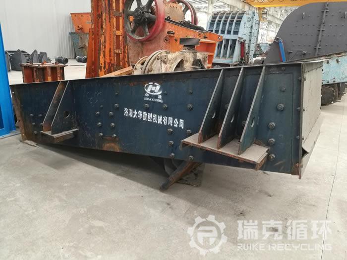 出售洛阳大华生产的二手GZD1236给料机一台 1