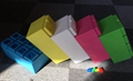hot self locking bricks kid's DIY toys blocks for education 32pcs lot color asso