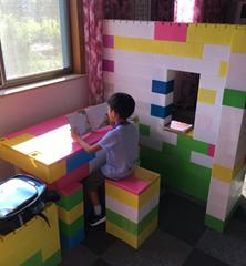 indoor playground blocks
