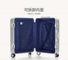 廣州鋁框旅行箱批發生產加工定製